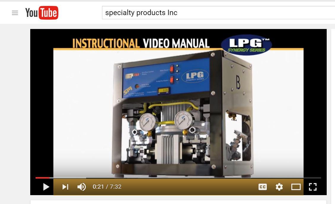 LPG Low Pressure Proportioner SPI