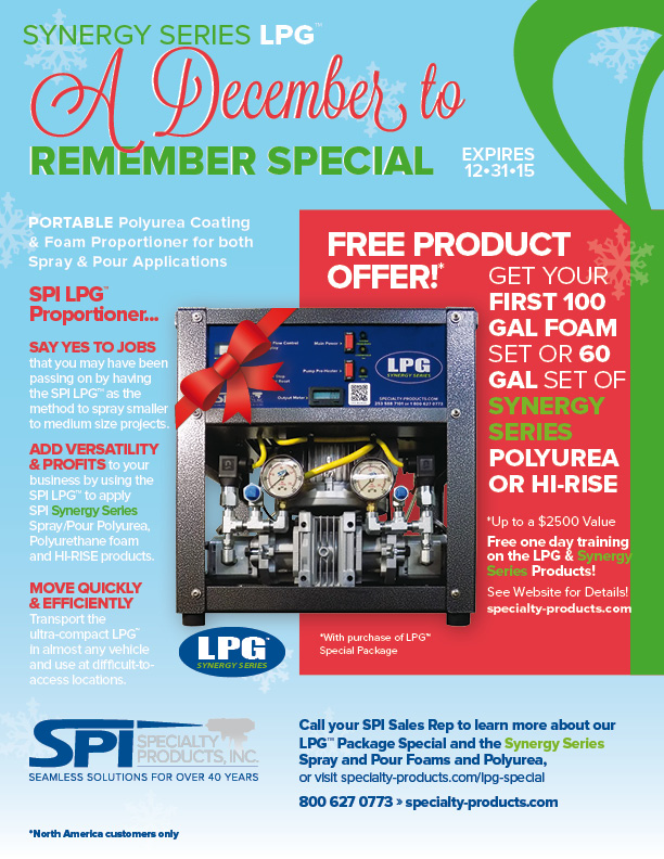 LPG Holiday Special Package deal