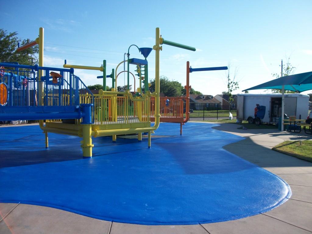 polyurea playground Texas