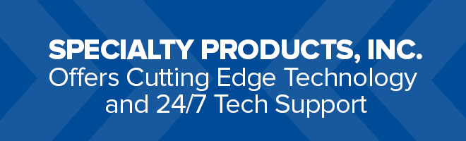 Specialty products inc offers cutting edge technology and for Cutting edge technology news