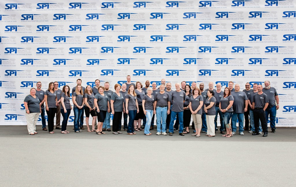 Employees on the 40th Anniversary, at the Lakewood, WA facility - Specialty Products, Inc.